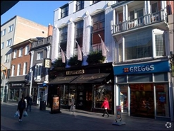1,628 SF High Street Shop for Rent  |  10 - 12 Market Street, Leicester, LE1 6DP