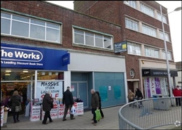 1,116 SF High Street Shop for Rent  |  106 London Road, Lowestoft, NR32 1HA