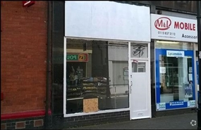 700 SF High Street Shop for Rent  |  27 High Street, Nottingham, NG10 1HY
