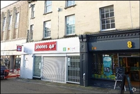 1,030 SF High Street Shop for Rent  |  23 King Street, Stroud, GL5 3BX
