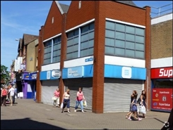2,443 SF High Street Shop for Rent  |  Unit 17, 132 Abbey Street, Nuneaton, CV11 5BZ