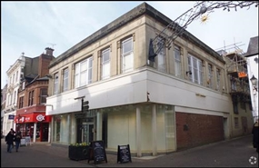 1,507 SF High Street Shop for Rent  |  68 - 69 High Street, Banbury, OX16 5JJ