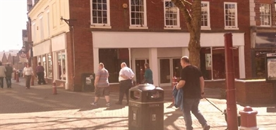2,123 SF High Street Shop for Rent  |  17-18 High Street, Kidderminster, DY10 2DJ