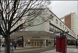 2,272 SF High Street Shop for Rent  |  75 High Street, Birmingham, B4 7TD