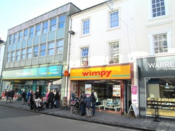 1,387 SF High Street Shop for Rent  |  10 Queen Street, Newton Abbot, TQ12 2EF