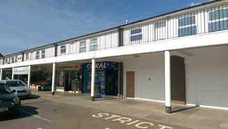 543 SF Out of Town Shop for Rent | 9A St Thomas Centre, Exeter, EX4 1DG