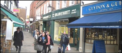1,976 SF High Street Shop for Rent  |  12 - 13 Apple Market, Kingston Upon Thames, KT1 1JE
