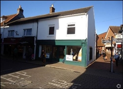 1,103 SF High Street Shop for Sale  |  26 - 28 High Street, Ringwood, BH24 1AF