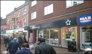 2,476 SF High Street Shop for Rent  |  Unit 9, Tamworth, B79 7LH