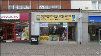 1,440 SF High Street Shop for Rent  |  54 High Street, Staines, TW18 4DY