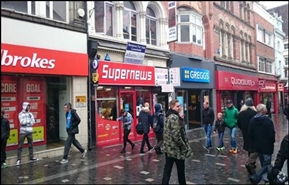 1,220 SF High Street Shop for Rent  |  20 - 20A Richmond Street, Liverpool, L1 1EF