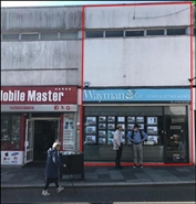 659 SF High Street Shop for Rent  |  8 Fraternal Parade, Pontypridd, CF37 4UG