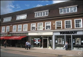 858 SF High Street Shop for Rent | 16 Water Lane, Wilmslow, SK9 5AA