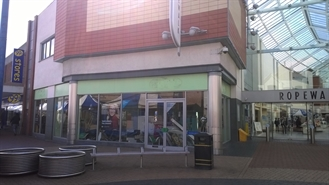 1,706 SF Shopping Centre Unit for Rent  |  Unit 15a, Ropewalk Shopping Centre, Nuneaton, CV11 5TZ