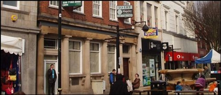 1,026 SF High Street Shop for Rent  |  25 Market Place, Nuneaton, CV11 4HS
