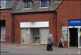 765 SF High Street Shop for Rent  |  37 Fore Street, Chard, TA20 1PT