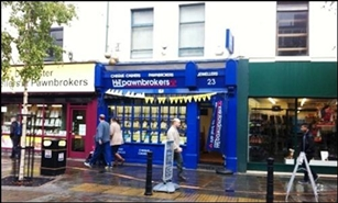 1,141 SF High Street Shop for Rent  |  23 High Street, Doncaster, DN1 1DW