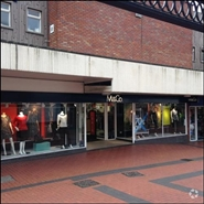 1,623 SF Shopping Centre Unit for Rent  |  Cannock Shopping Centre, Cannock, WS11 1EB