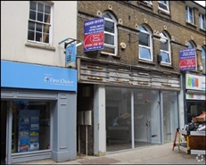 367 SF High Street Shop for Rent  |  6 White Hart Street, High Wycombe, HP11 2HL