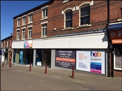 1,894 SF High Street Shop for Rent  |  10B - 14 Bath Street, Ilkeston, DE7 8FB