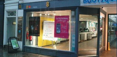 661 SF High Street Shop for Rent  |  Units 1 - 2, 12 St Ann's Square, Manchester, M2 7HW
