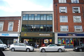 2,429 SF High Street Shop for Rent  |  219 High Street, Guildford, GU1 3BJ