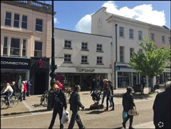 2,358 SF High Street Shop for Rent  |  163 - 165 High Street, Cheltenham, GL50 1DF