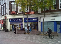 425 SF High Street Shop for Rent  |  4 Market Gate, Warrington, WA1 2LJ