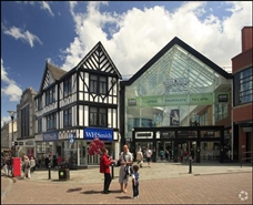 1,061 SF Shopping Centre Unit for Rent  |  Unit 14b, Wigan, WN1 1BH