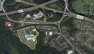 2,000 SF Out of Town Shop for Rent  |  Asda Surplus Car Park, Coryton, CF14 7EW