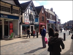 1,084 SF High Street Shop for Rent  |  22 High Street, Uttoxeter, ST14 7HT