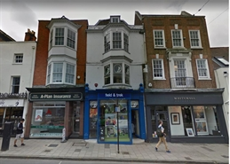 930 SF High Street Shop for Rent  |  202 High Street, Guildford, GU1 3HZ