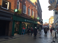 1,356 SF High Street Shop for Rent  |  22 - 24 Market Street, York, YO18SJ