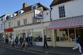 1,645 SF High Street Shop for Rent  |  57-58 South Street, Chichester, PO19 1DS
