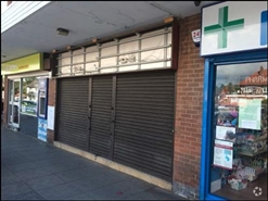 488 SF High Street Shop for Rent  |  Unit 5, Swan Island Shopping Centre, Burntwood, WS7 0DW