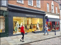 1,344 SF High Street Shop for Rent  |  120 High Street, Guildford, GU1 3HQ