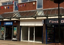 510 SF Shopping Centre Unit for Rent  |  11 Bakers Lane  Three Spires Shopping Centre, Lichfield, WS13 6NF