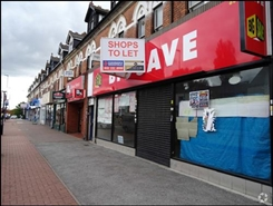 2,492 SF High Street Shop for Rent  |  598 - 600 Bearwood Road, Smethwick, B66 4BW