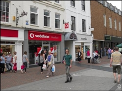 1,074 SF High Street Shop for Rent   28 High Town, Hereford, HR1 2AB