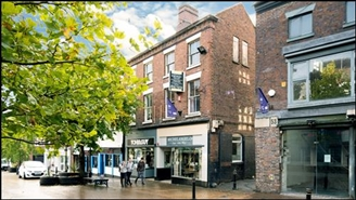 1,482 SF High Street Shop for Sale  |  51 - 52 Ironmarket, Newcastle Under Lyme, ST5 1PB