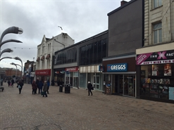 1,715 SF High Street Shop for Rent  |  70 Church Street, Blackpool, FY1 1HP
