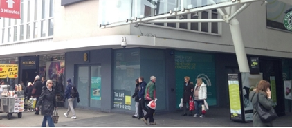 872 SF Shopping Centre Unit for Rent  |  Unit 75 Above Bar Street, Southampton, SO14 7FF