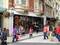 2,038 SF High Street Shop for Rent | 59 61 Queen Street, Cardiff, CF10 2AT