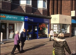 938 SF High Street Shop for Rent  |  12A Aughton Street, Ormskirk, L39 3BH