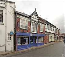 365 SF High Street Shop for Rent  |  1A - 1B Market Street, Northwich, CW9 5BD