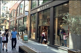 1,113 SF High Street Shop for Rent  |  St Martin'S Courtyard, London, WC2E 9AB