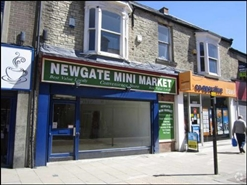 512 SF High Street Shop for Rent  |  93 Newgate Street, Bishop Auckland, DL14 7EW