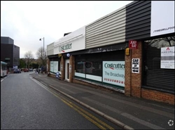 1,086 SF High Street Shop for Rent  |  2A The Broadway, Dudley, DY1 4AR