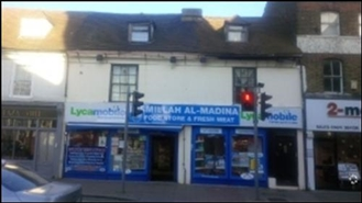 1,037 SF High Street Shop for Rent  |  4 - 5 Milton Road, Gravesend, DA12 2RE