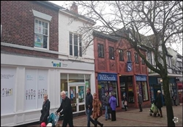 504 SF High Street Shop for Rent  |  34 - 36 Witton Street, Northwich, CW9 5AH